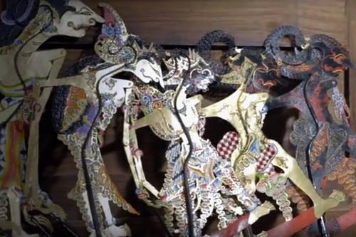 Indonesian Shadow Puppet Craft Center